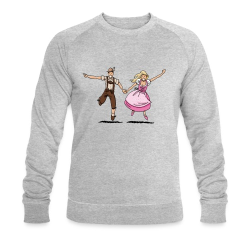 Damen T-Shirt Oktoberfest Glückliches Paar - Männer Bio-Sweatshirt von Stanley & Stella