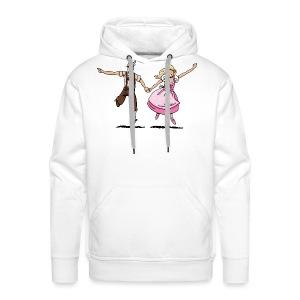 Damen T-Shirt Oktoberfest Glückliches Paar - Männer Premium Hoodie