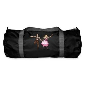 Damen T-Shirt Oktoberfest Glückliches Paar - Sporttasche