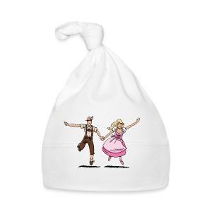 Damen T-Shirt Oktoberfest Glückliches Paar - Baby Mütze