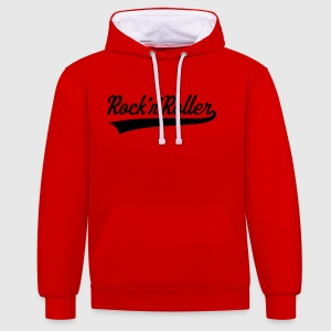 Rock 'n' Roller T-Shirts - Contrast Colour Hoodie