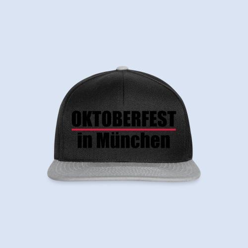 MÜNCHNER OKTOBERFEST | WIESN IN MÜNCHEN - Snapback Cap