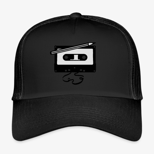 Tape kassette Musik - Old School Fast Forward  - Trucker Cap