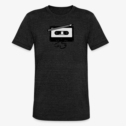 Tape kassette Musik - Old School Fast Forward  - Unisex Tri-Blend T-Shirt von Bella + Canvas
