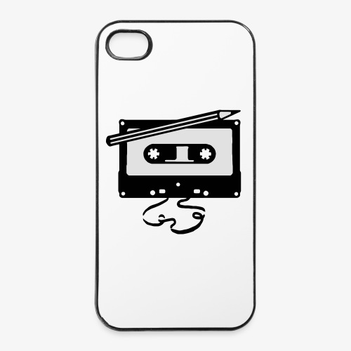 Tape kassette Musik - Old School Fast Forward  - iPhone 4/4s Hard Case