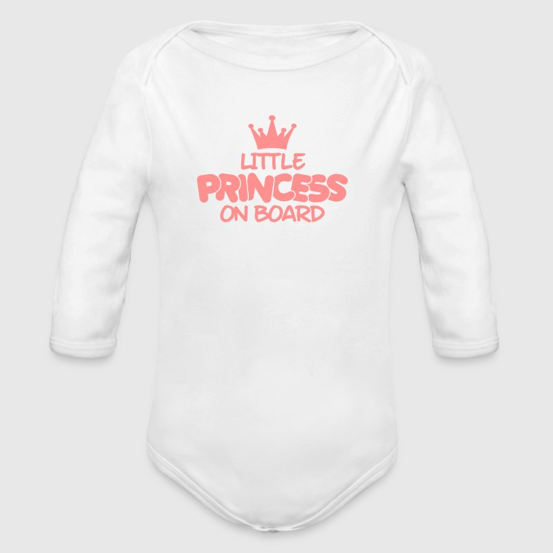 little princess on board Hoodies - Longlseeve Baby Bodysuit
