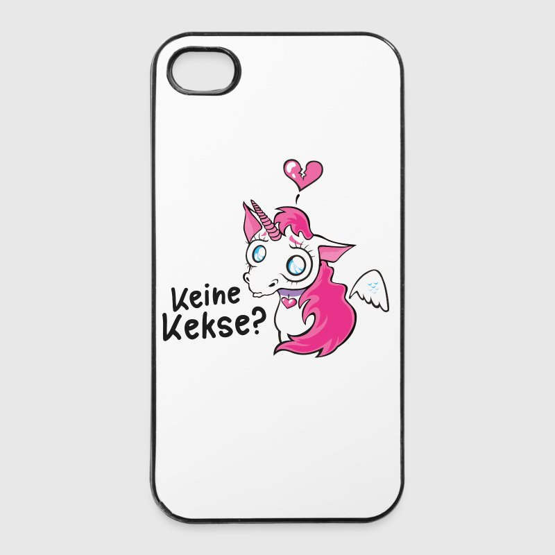 Keine Kekse? - Trauriges Einhorn Handy & Tablet Hüllen - iPhone 4/4s Hard Case