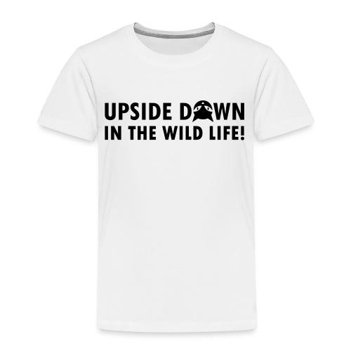 UPSIDE DOWN CAT - Kinder Premium T-Shirt
