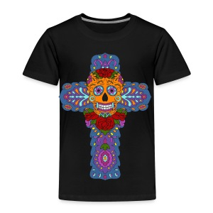 Skull Cross - Kinder Premium T-Shirt