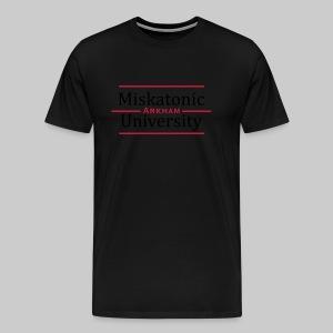 MTEv1: Miskatonic University - Arkham - Männer Premium T-Shirt