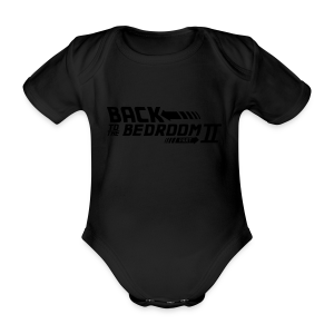 Back to the bedroom - Organic Short-sleeved Baby Bodysuit