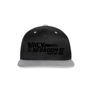 Back to the bedroom - Contrast Snapback Cap