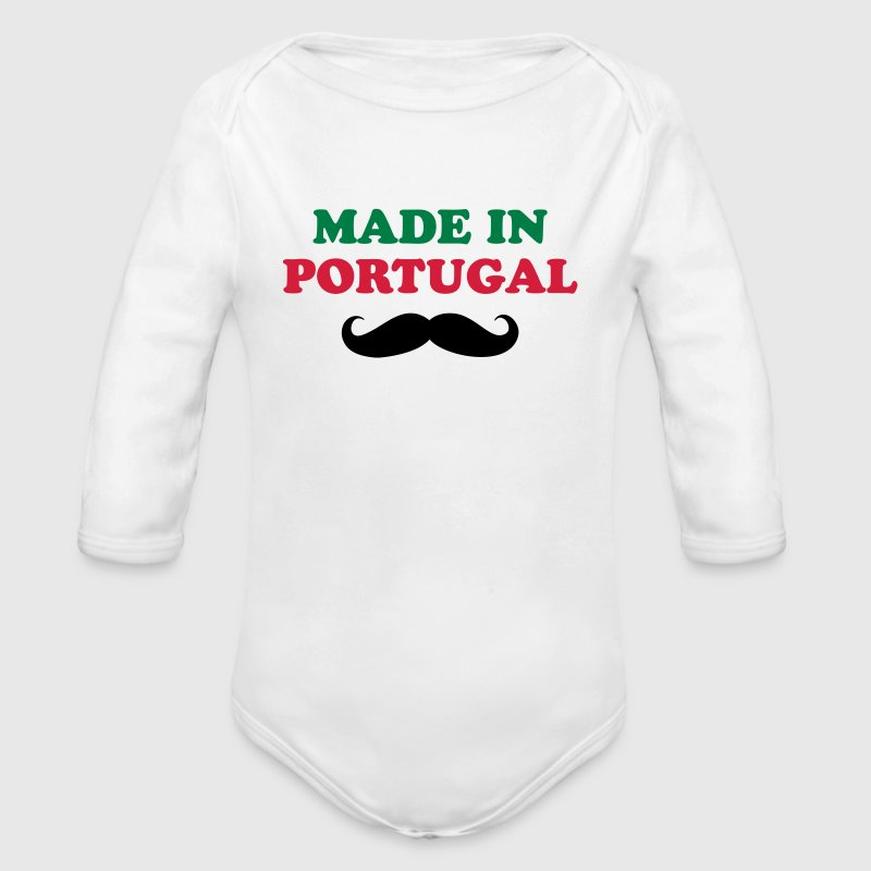 Made in Portugal Pullover & Hoodies - Baby Bio-Langarm-Body