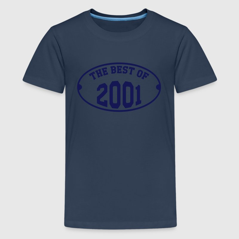 The Best of 2001 Shirts - Teenage Premium T-Shirt