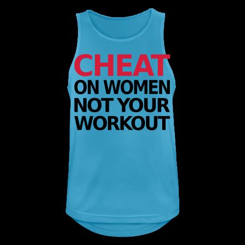 Dont Cheat on your Workout - Männer Tank Top atmungsaktiv