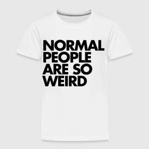 Normal People Tröjor - Premium-T-shirt barn