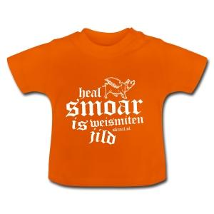 Baby T-shirt - Heal smoar is weismiten jilt / Skraal Bluesrock