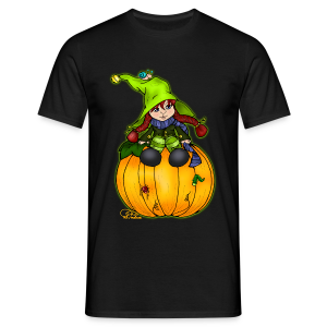 Kleine Kürbishexe - Männer T-Shirt