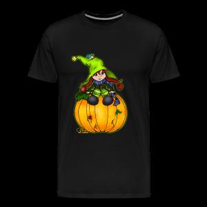 Kleine Kürbishexe - Männer Premium T-Shirt