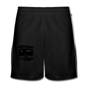 Caravanning is a journey - Men's Football shorts