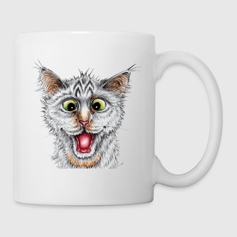 Happy Cat - Mugg
