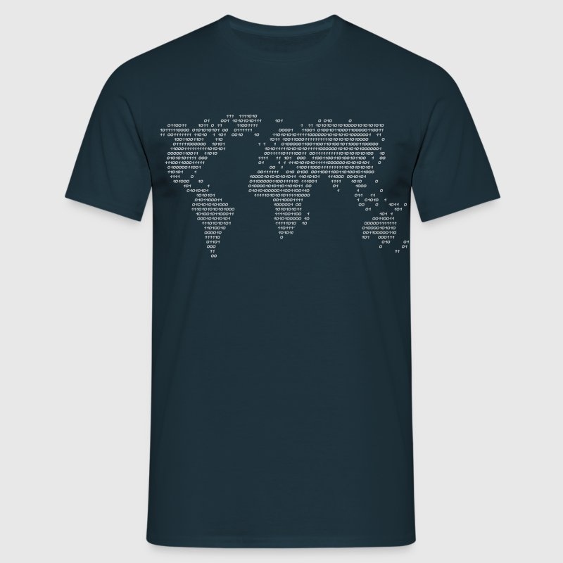 Code mondial mondial en chiffres  Tee shirts - T-shirt Homme