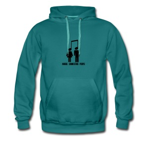 Music Connecting People - Männer Premium Hoodie