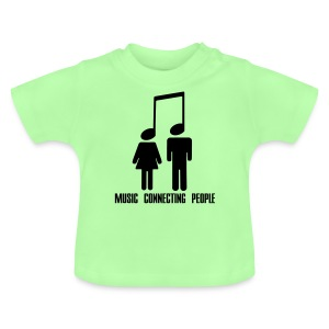 Music Connecting People - Baby T-Shirt