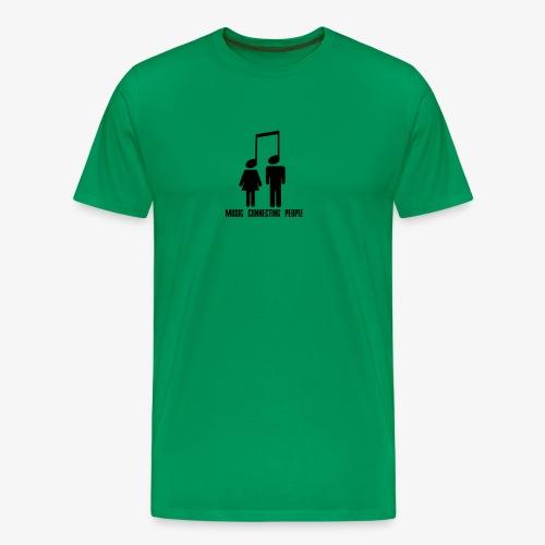 Music Connecting People - Männer Premium T-Shirt