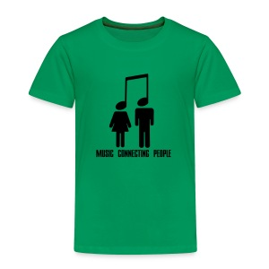 Music Connecting People - Kinder Premium T-Shirt