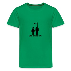 Music Connecting People - Teenager Premium T-Shirt