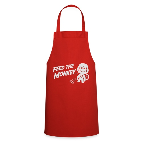 Feed The Monkey - Red Hoodie  - Cooking Apron