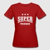 Super Friends, Damen Fun T-Shirt - Frauen Bio-T-Shirt
