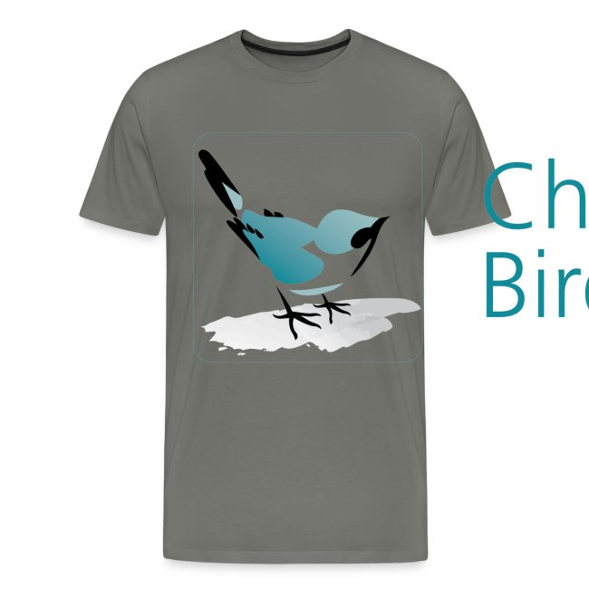 Chinese Birds Men's T-shirt