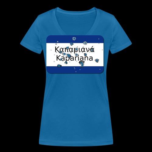 Kapariana Agapao - Frauen Bio-T-Shirt mit V-Ausschnitt von Stanley & Stella