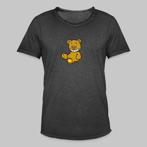 Ulkbär sitzt - Männer Vintage T-Shirt