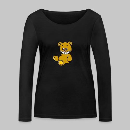 Ulkbär sitzt - Frauen Bio-Langarmshirt von Stanley & Stella
