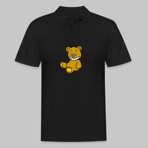 Ulkbär sitzt - Männer Poloshirt