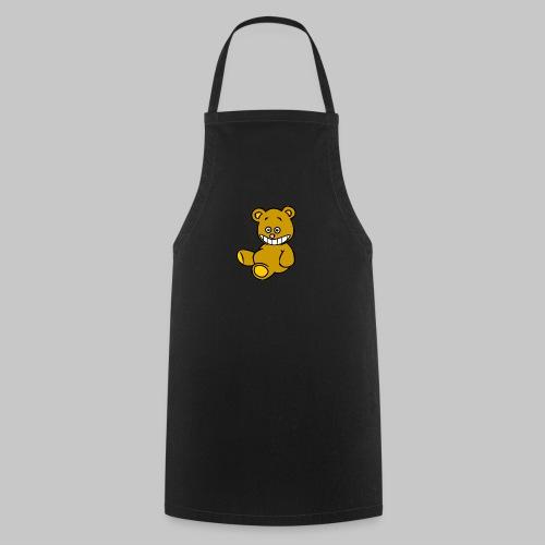 Ulkbär sitzt - Kochschürze