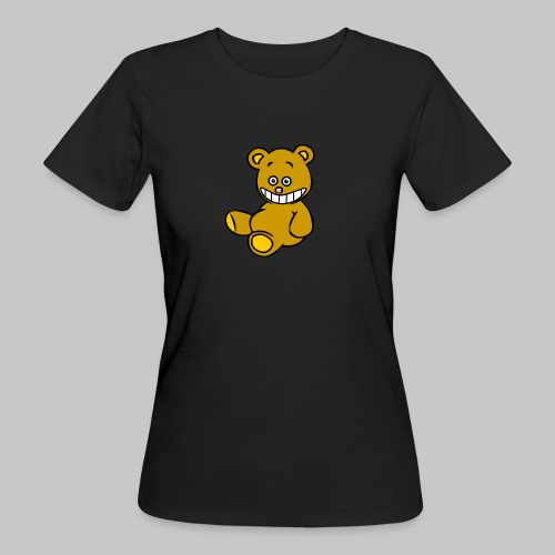 Ulkbär sitzt - Frauen Bio-T-Shirt