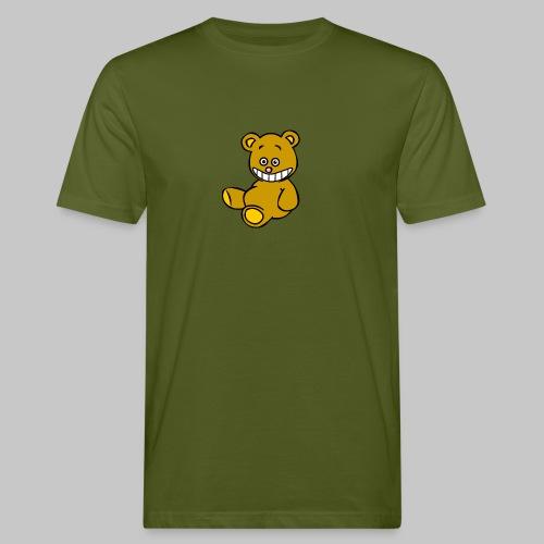 Ulkbär sitzt - Männer Bio-T-Shirt