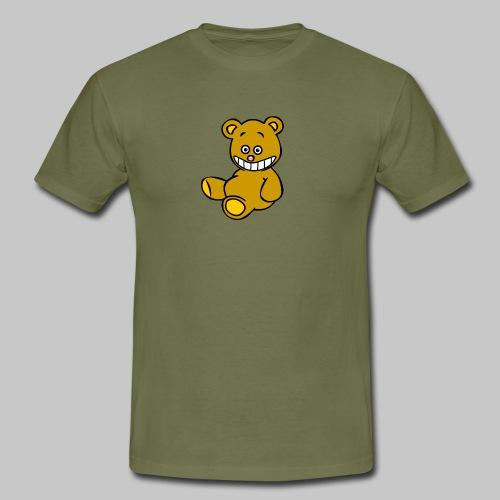 Ulkbär sitzt - Männer T-Shirt