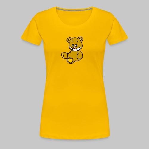Ulkbär sitzt - Frauen Premium T-Shirt