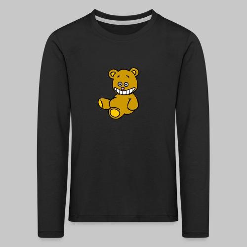 Ulkbär sitzt - Kinder Premium Langarmshirt