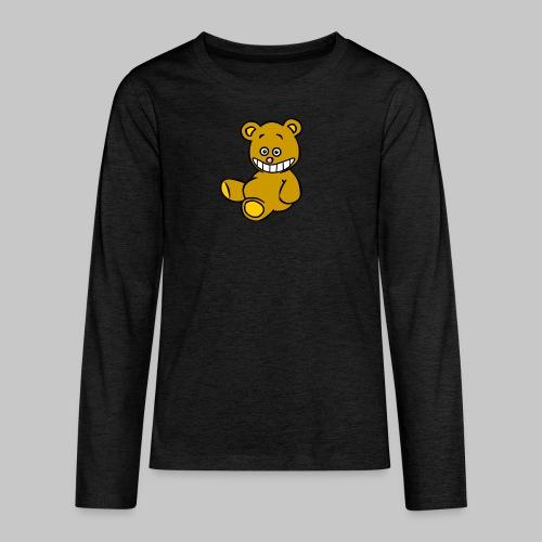 Ulkbär sitzt - Teenager Premium Langarmshirt