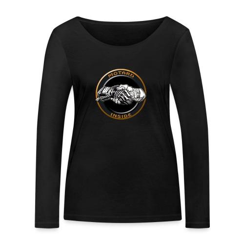 Motard inside - T-shirt manches longues bio Stanley & Stella Femme
