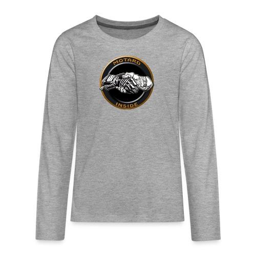 Motard inside - T-shirt manches longues Premium Ado
