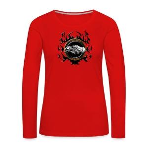Motard inside - T-shirt manches longues Premium Femme