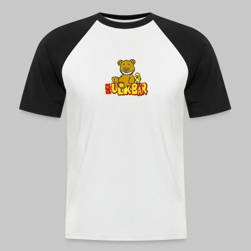 Ulkbär mit Vogel - Männer Baseball-T-Shirt