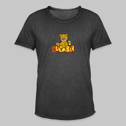 Ulkbär mit Vogel - Männer Vintage T-Shirt